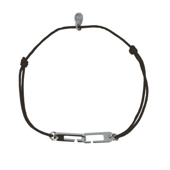Bracelet Osmose sur cordon ajustable au choix - Fermoir Medium